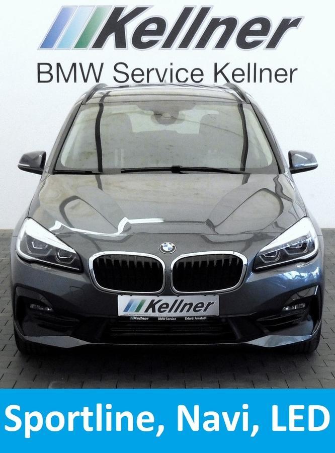 BMW 218 Gran Tourer i Aut. Sport Line Navi LED-SW