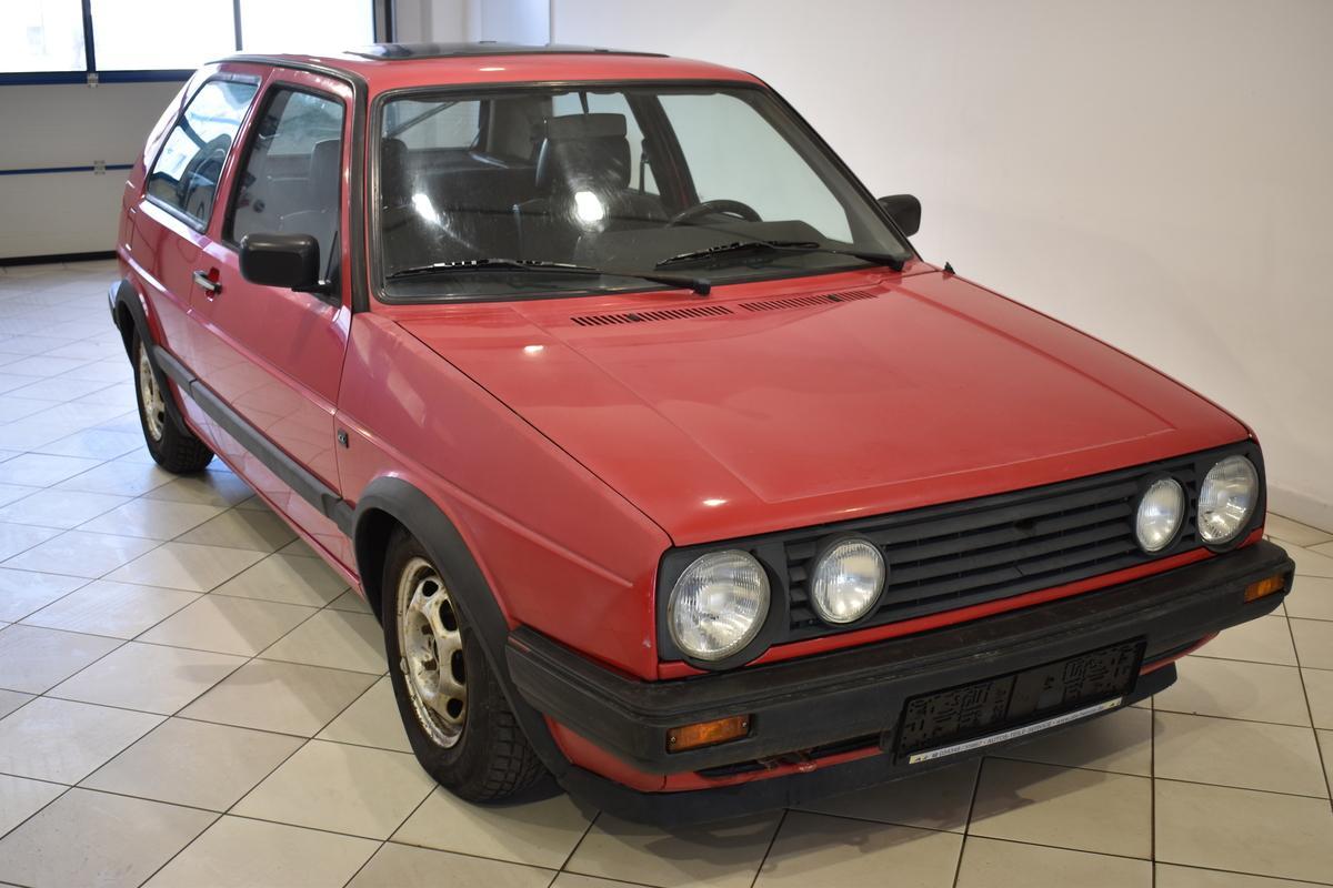 Volkswagen Golf II 1.3 CL TÜV NEU SERVO GLASDACH