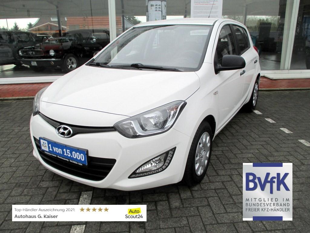 Hyundai i20 5-T. 1.2i 16V Klima # Servo # aus 1.Hand nur 19.923 km