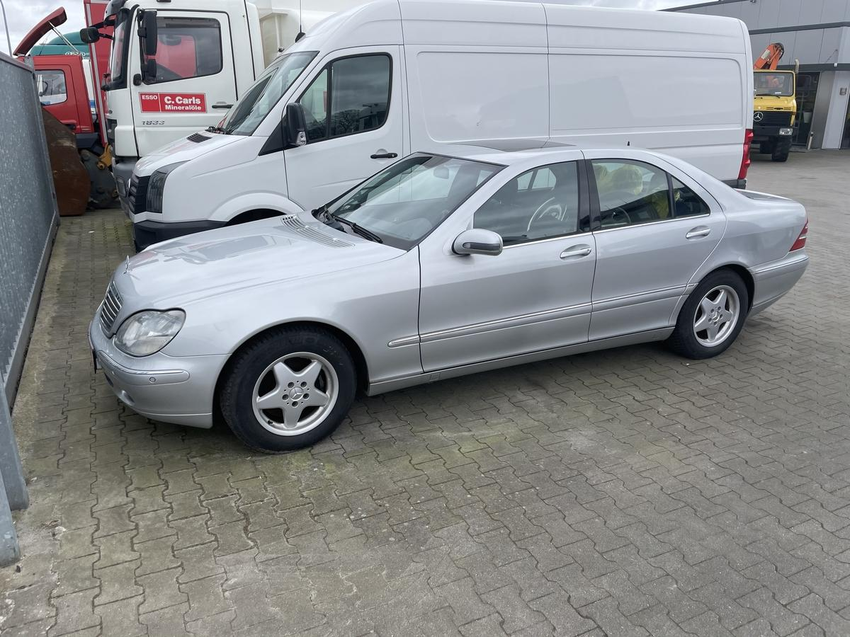 Mercedes-Benz S 320 CDI aus 1.Hand, Xenon, Navi, Schiebd.Leder