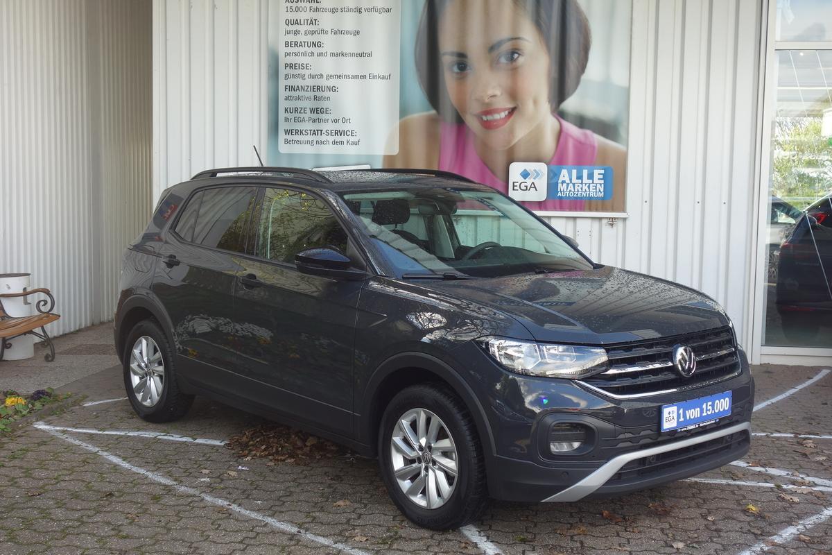 Volkswagen T-Cross 1.0 TSI Life NAVI*ALU*PRIVACY*LANE*MEDIA*BLINDSPOT*