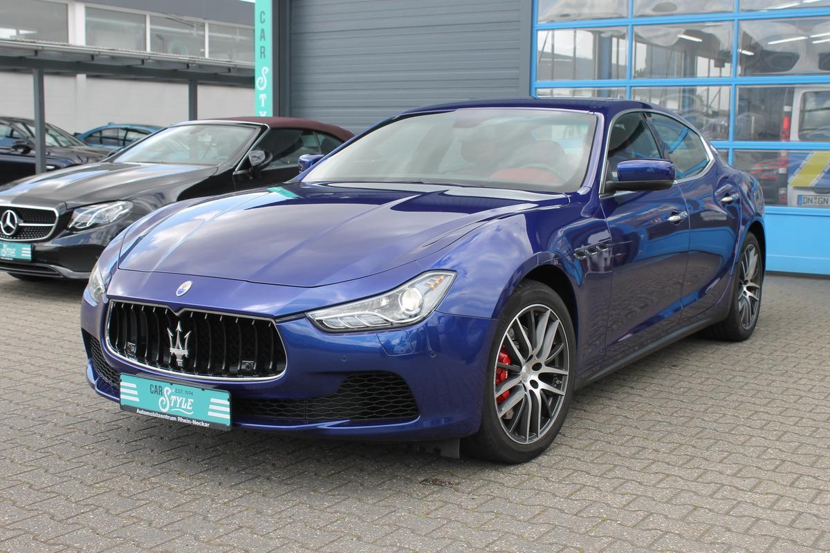 Maserati Ghibli S 3.0 V6 Q4 Navi R.Cam Alcantara Bi-Xenon