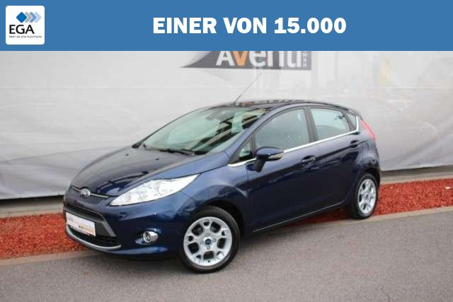Ford Fiesta 1.4 Titanium*AHK*Bluetooth*Klimaautomatik Klima