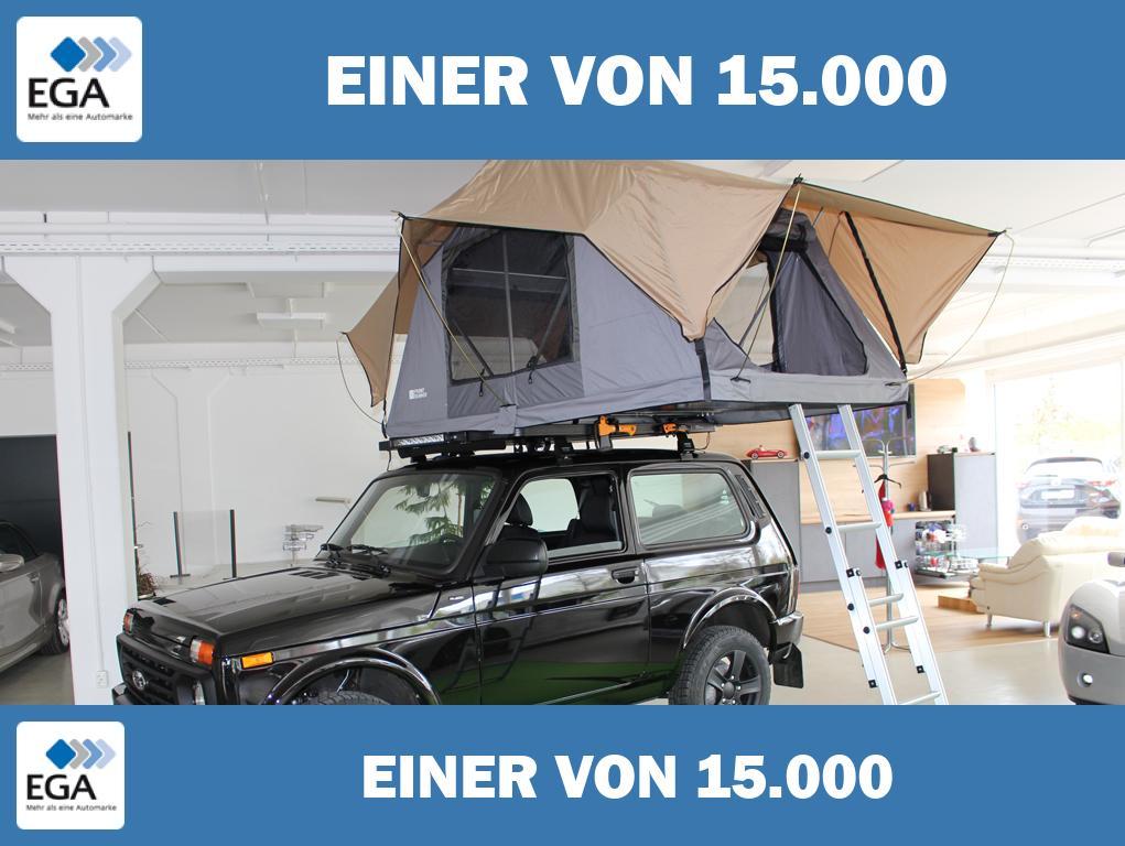 Lada Niva *Black Edition * Fether-Lite Dachzelt * LED Light Bar *