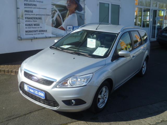 Ford Focus Kombi Silver Magic*Klima*LM-Felgen*Nebel*Sportsitze