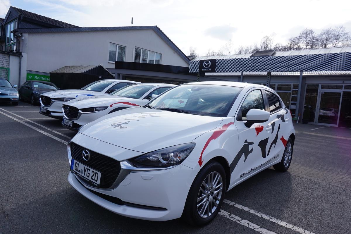 Mazda 2 Kizoku, Navi, LED, PDC, Kamera, Alu