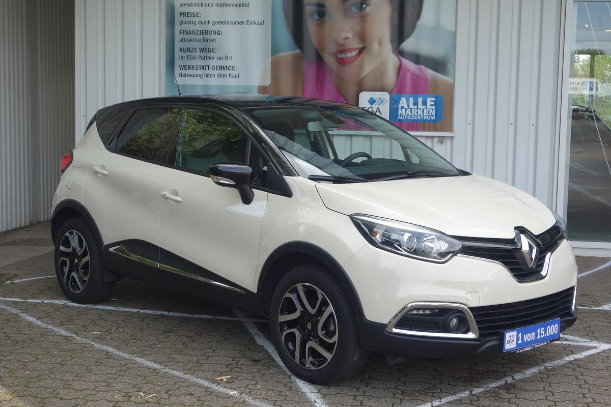 Renault Captur Tce 90 0,9 LUXE KLIMA NAVI ALU PDC KAMERA  ERST 23TKM