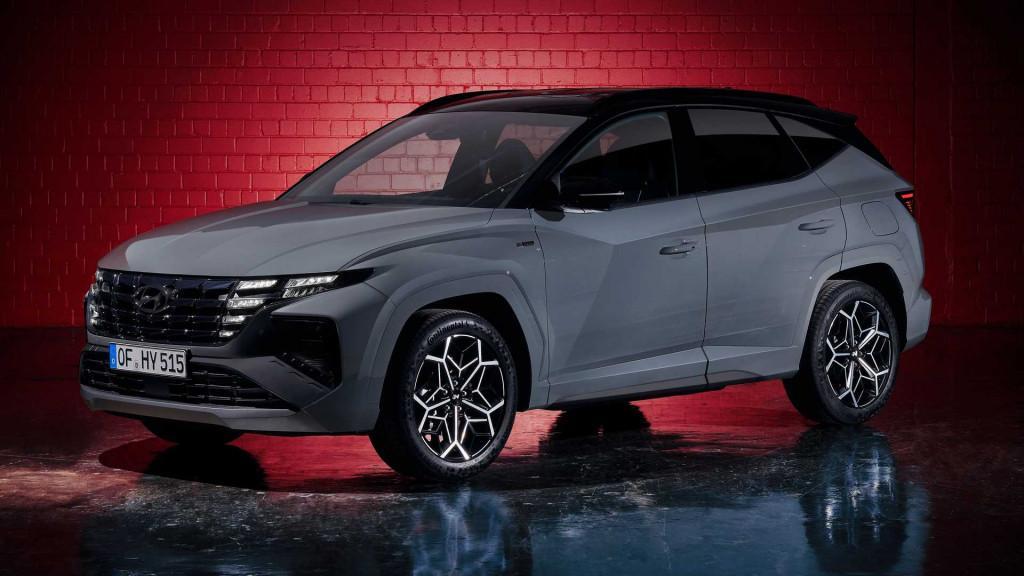 Hyundai Tucson N-Line Premium Plus *FACELIFT 2021* 1.6 T-GDI 48V *Alcantara*360°Cam*Navi
