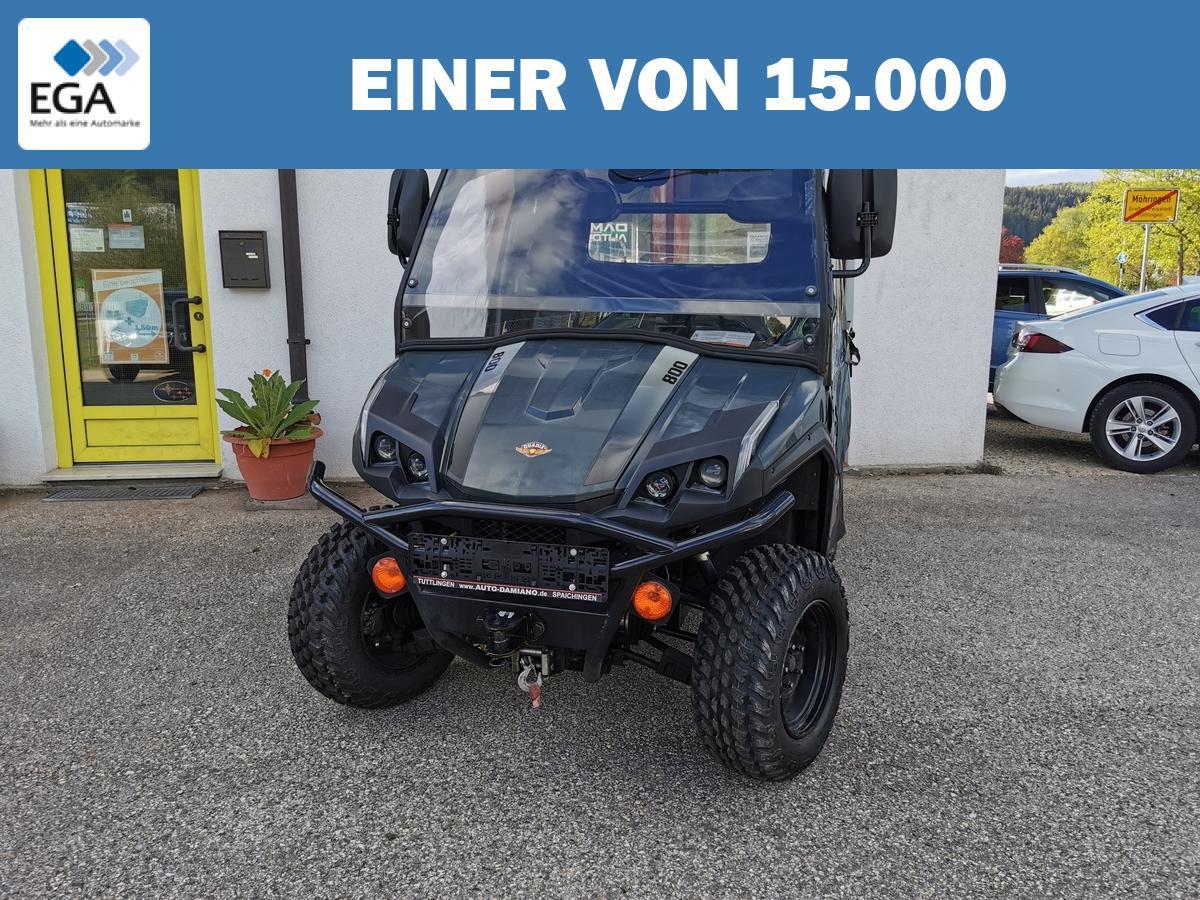 Quadix Trooper 800 Traktorzulassung / 1.000 kg Anhän