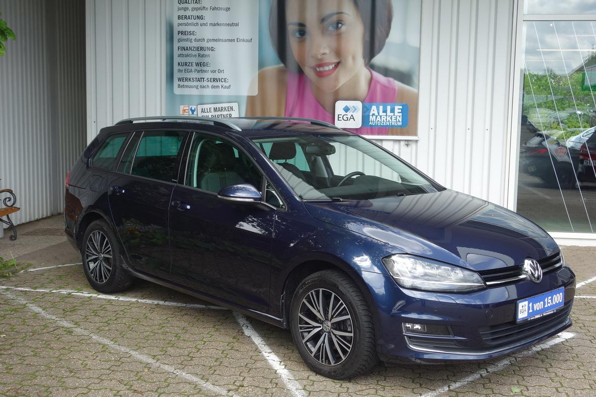 Volkswagen Golf VII VAR 1,4 TSI ALLSTAR NAVI PDC ALU AHK KAMERA XENO