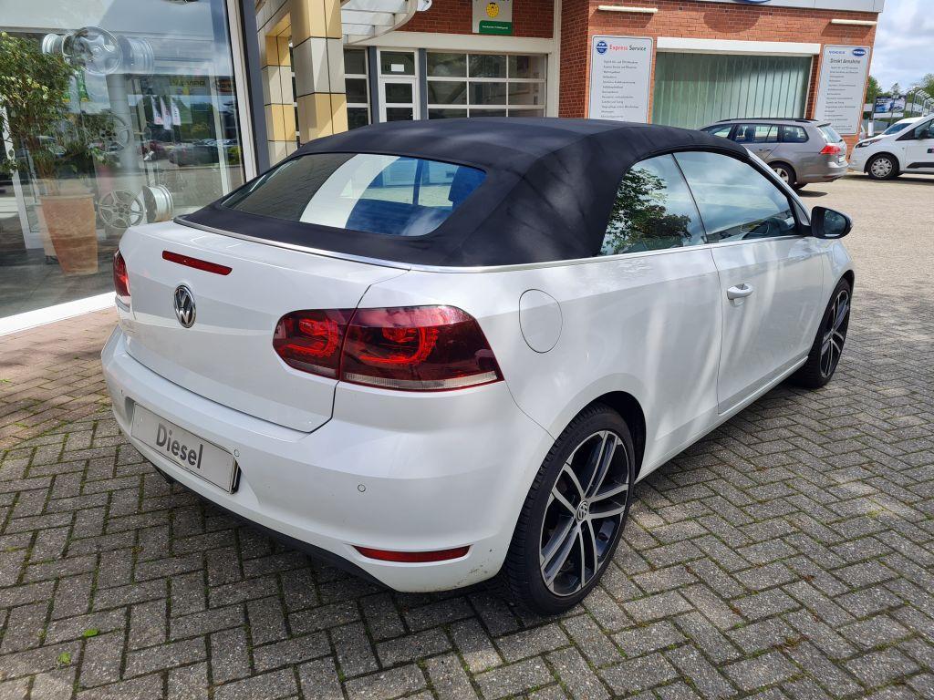 VW Golf Cabrio 2.0 TDI BlueMotion Technology Exclusive
