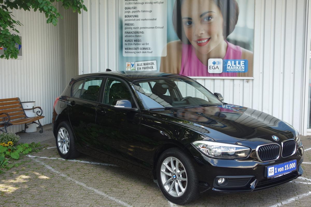 BMW 116 AVANTANGE KLIMA PDC SHZ ALU NAVI BLUETOOTH