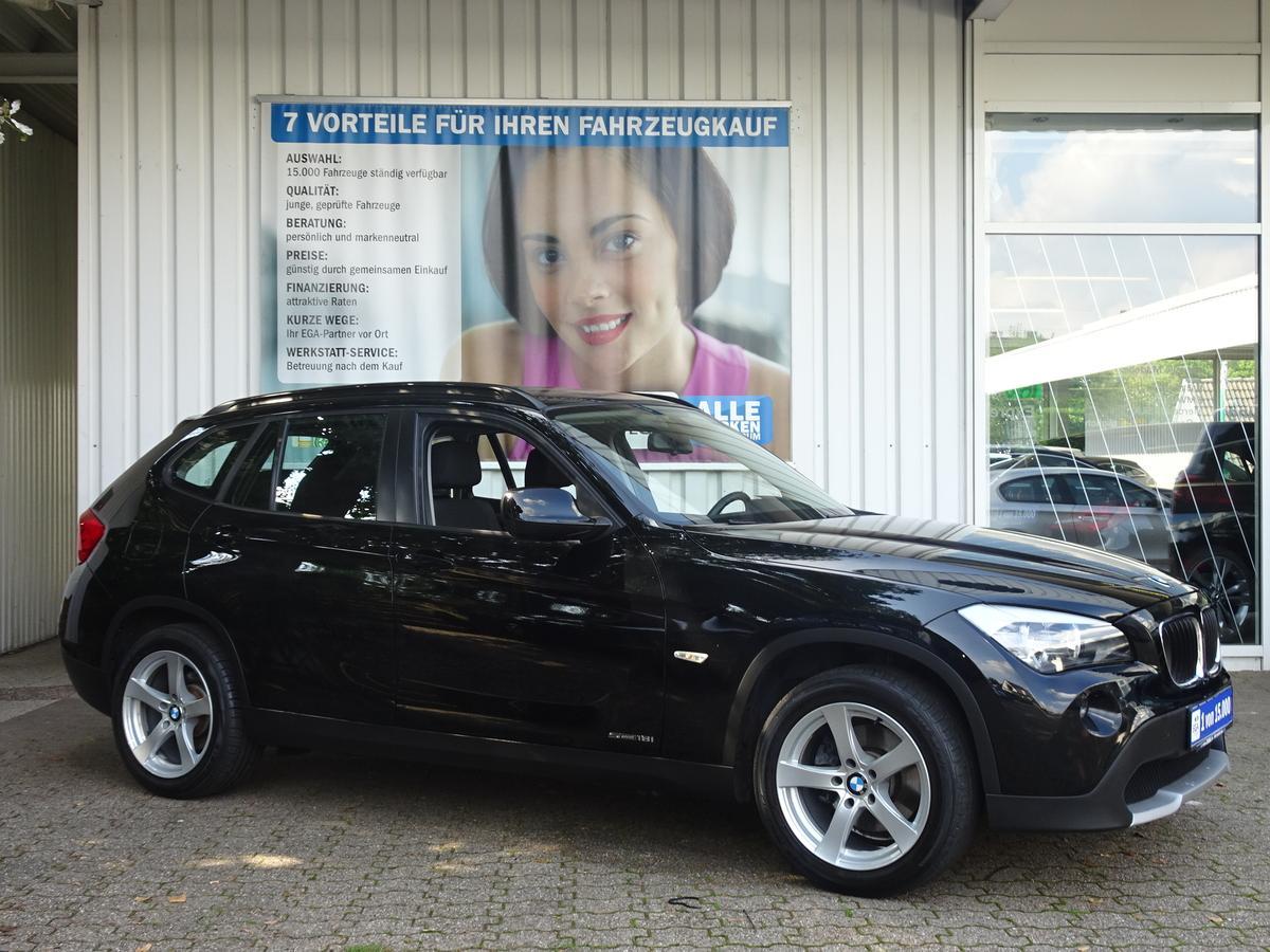 BMW X1 1,8i sDRIVE 88 TKM !!!!  AHK*PDC*SITZHEIZUNG*ALU*KLIMA