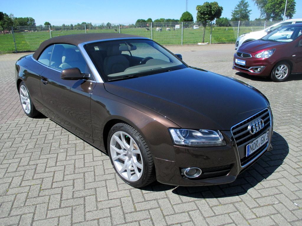 Audi A5 Cabriolet 2.0 TFSI 132 kW AUTOMATIK Klima