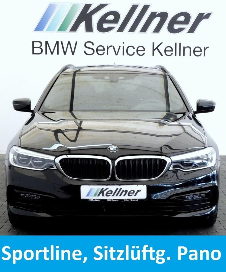 BMW 520d Sport Line, Sitzbelüft.,Adapt-LED-SW, Live Cockpit