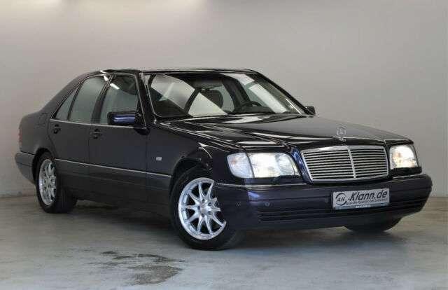Mercedes-Benz S 320 3.2 231PS 2.Hand 89.451 KM Leder Navi
