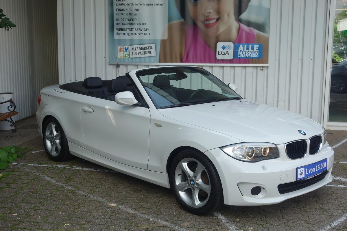 BMW 118i CABRIO PDC ALU LEDER MFL SHZ TEMPO M-FW