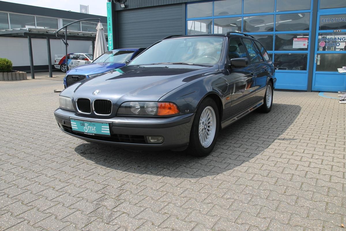 BMW 528i, AHK Leder Klima SHZ NAVI