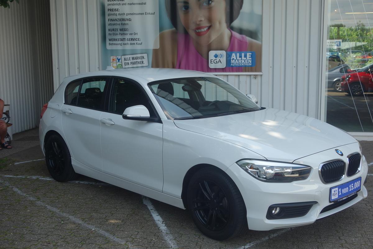 BMW 116d ADVANTAGE KLIMA PDC SHZ NAVI BLUTOOTH ERST 69*