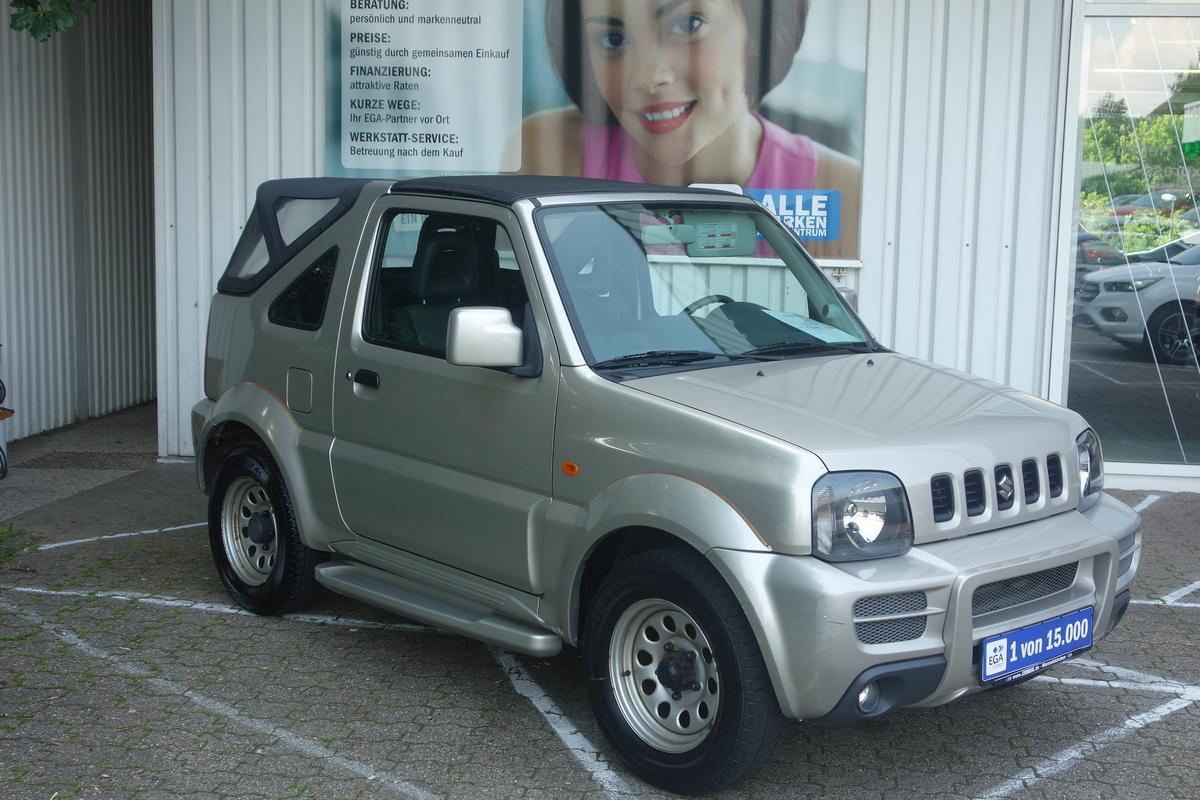 Suzuki Jimny 1,3 CABRIO 4WD ROCK AM RING