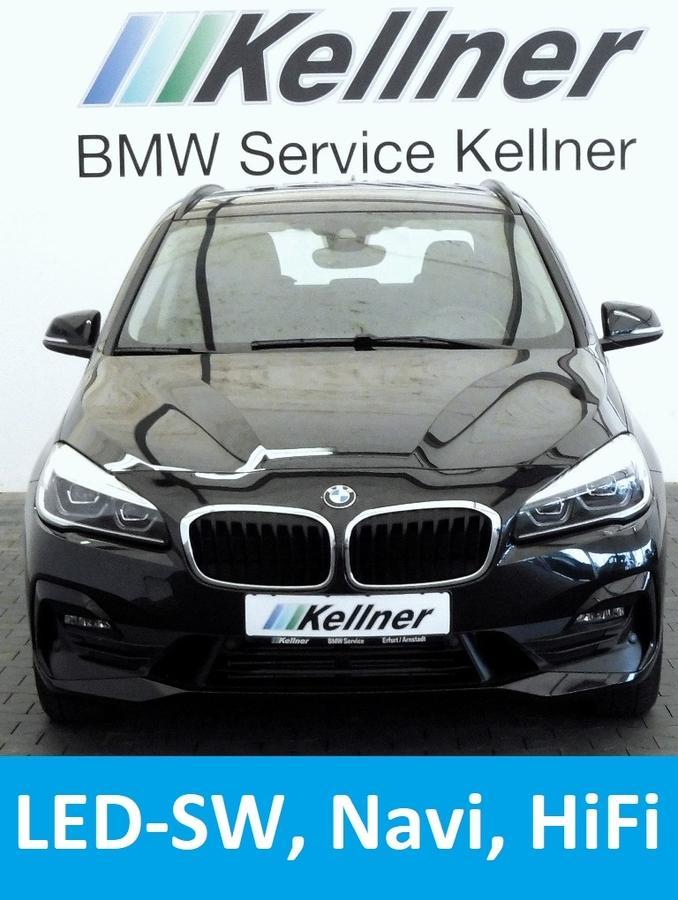 BMW 218 Active Tourer d Aut. LED-SW HIFI Navi Tempomat