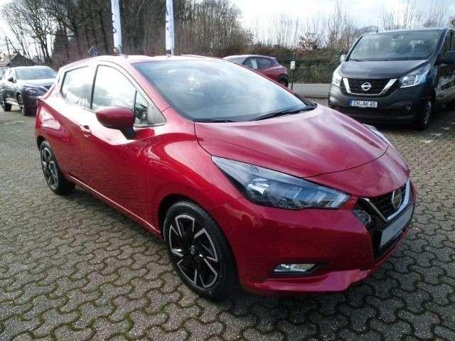 Nissan Micra N-WAY,AAC,Navi PDC,Sitzheizung,EURO6d-full