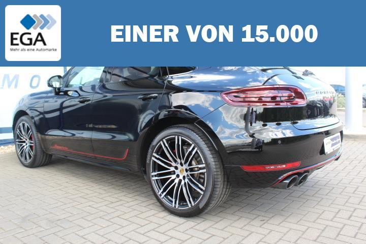 Porsche Macan Turbo V6 Performance Exclusive LED/360°/Pa LED/360°/Pano/ACC/Burmester/21-