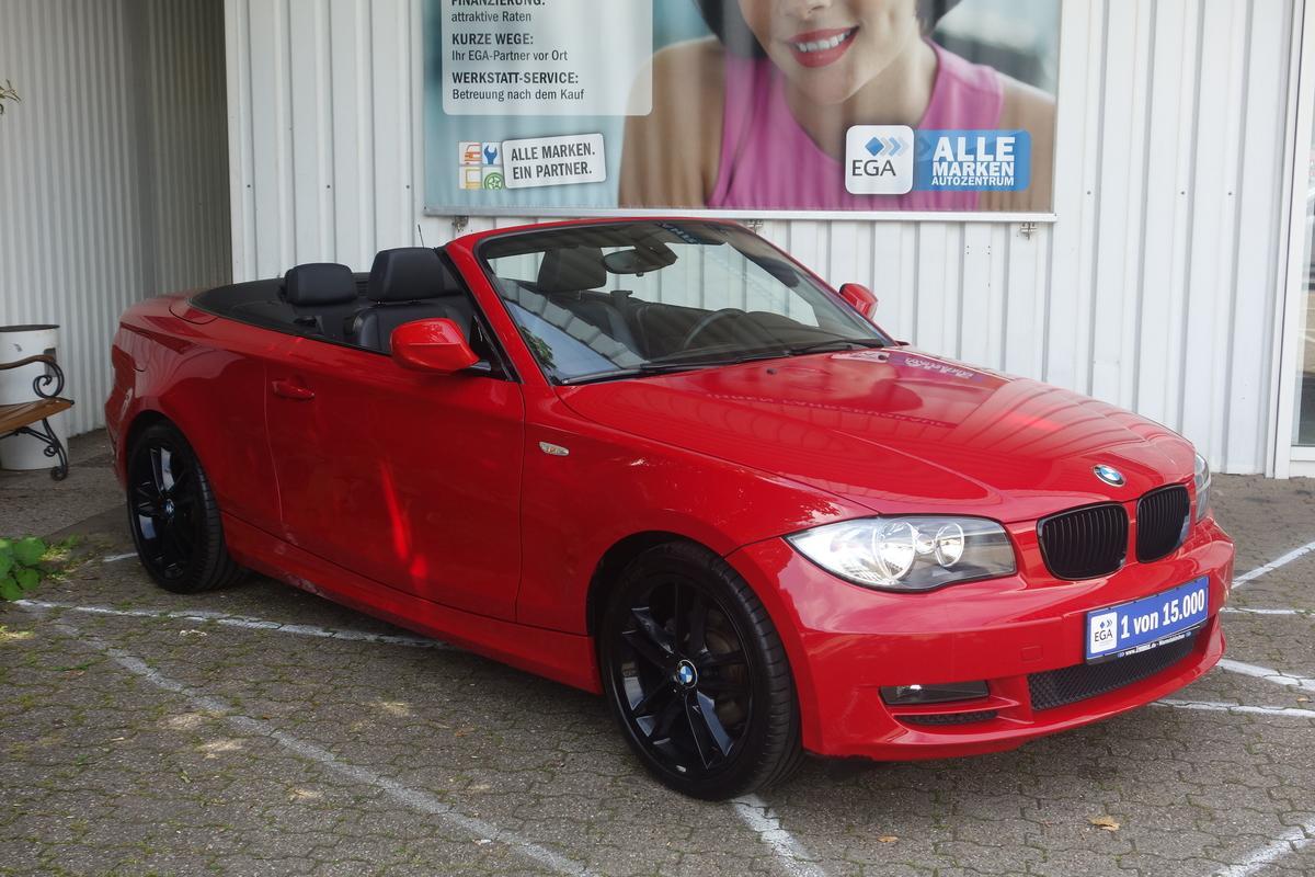 BMW 118 CABRIO ADVANTAGE KLIMA ALU SHZ PDC AHK  ERST 50TKM