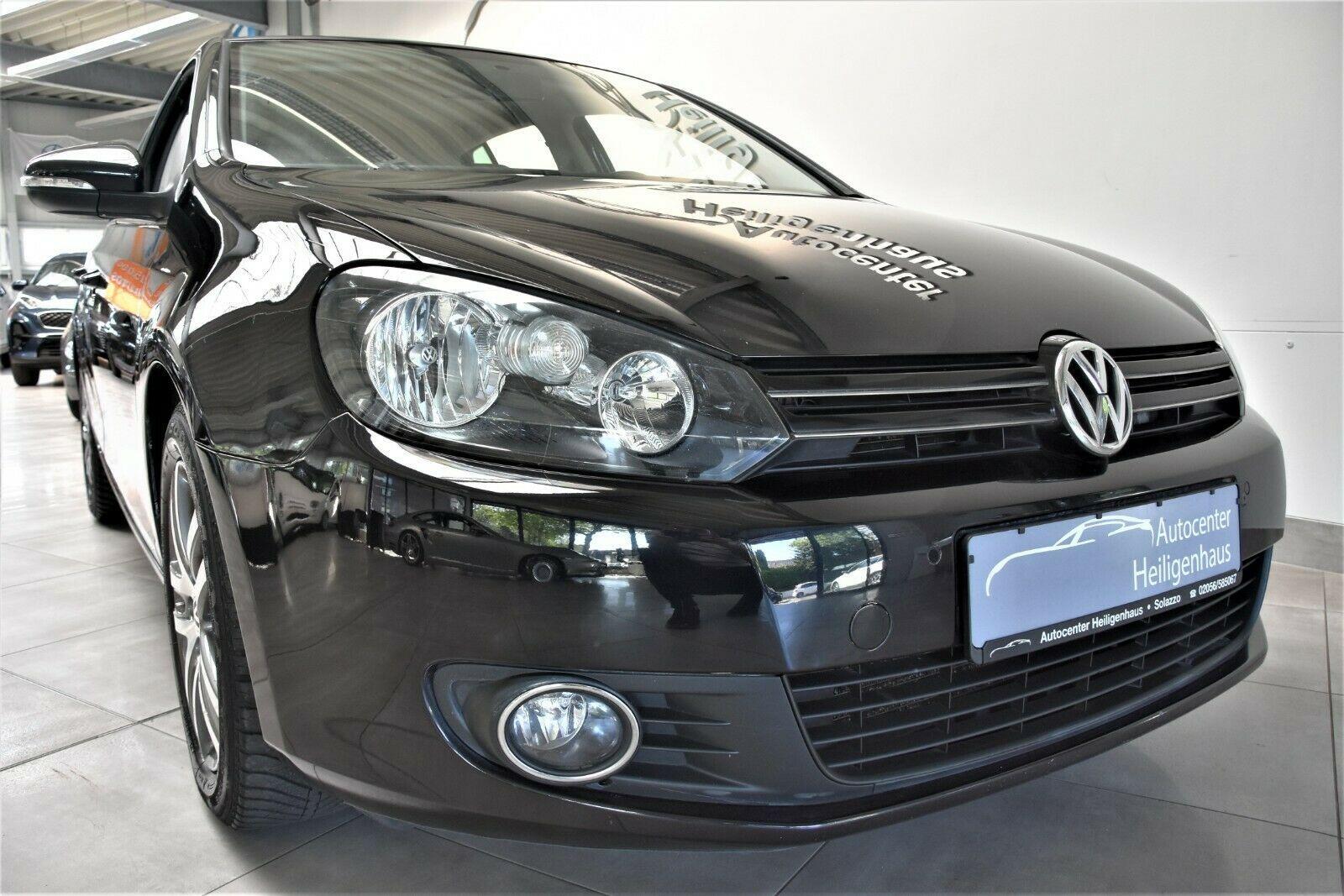 VW Golf VI 1.4TSI DCC Navi Schiebed Standhz AHK PDC
