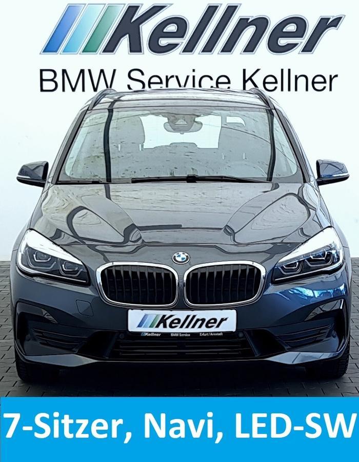 BMW 220 Gran Tourerd Navi, LED-SW, 7- Sitzer