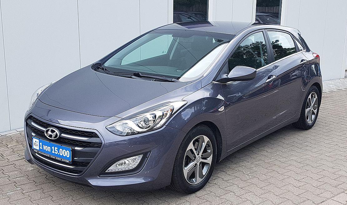 Hyundai i30 Trend FL 1.6 i Klima*Sitz&Lenkhzg*PDC*Alu