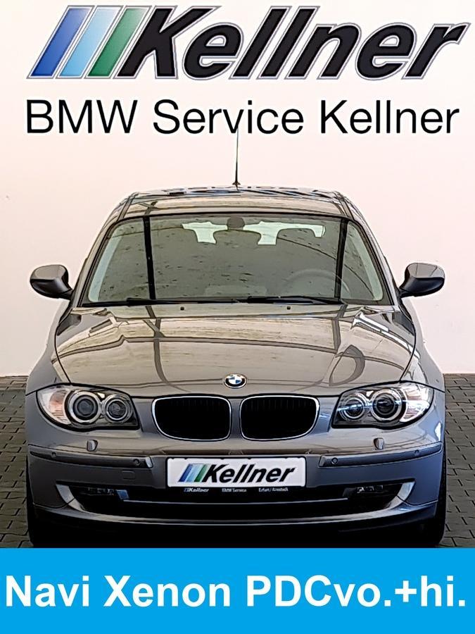 BMW 116d DPF Navi Xenon PDC Klima-Aut.