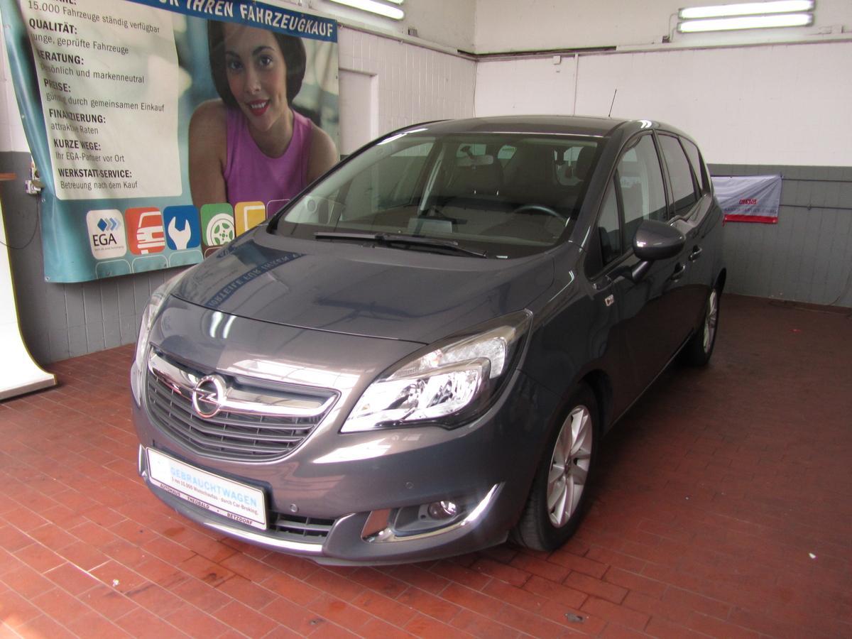Opel Meriva B Drive 1.4 T. +Winter Paket+nur 37TKM