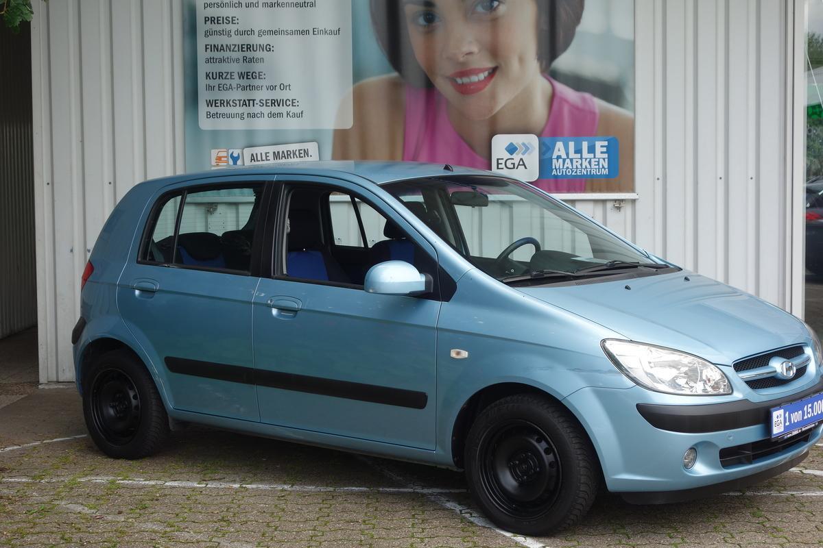 Hyundai Getz 87 TKM !!! KLIMA*EL. FENSTERHEBER*SERVOLENKUNG