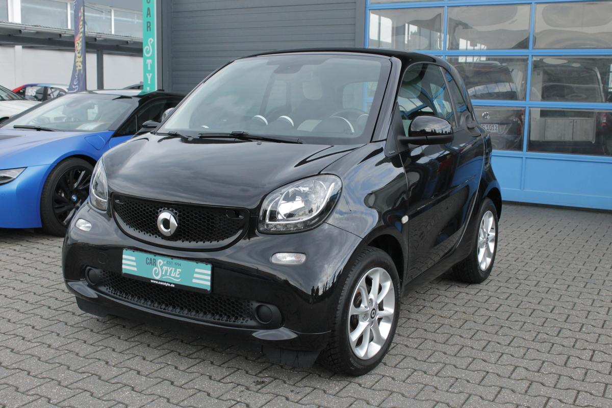 Smart ForTwo Coupe Passion LED Temp. SHZ Pano Klimaa. Euro 6