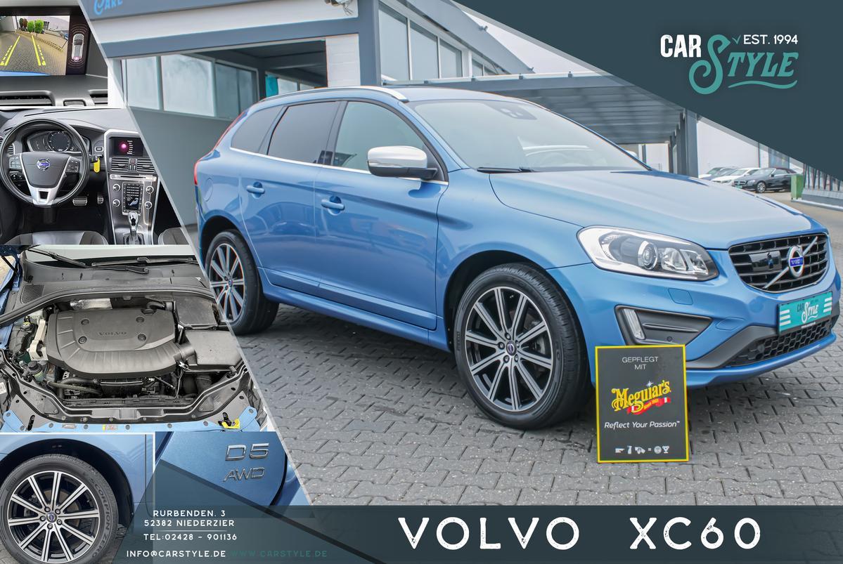 Volvo XC60 2.4 D5 Geartronic Momentum R-Design Navi Leder R.Cam
