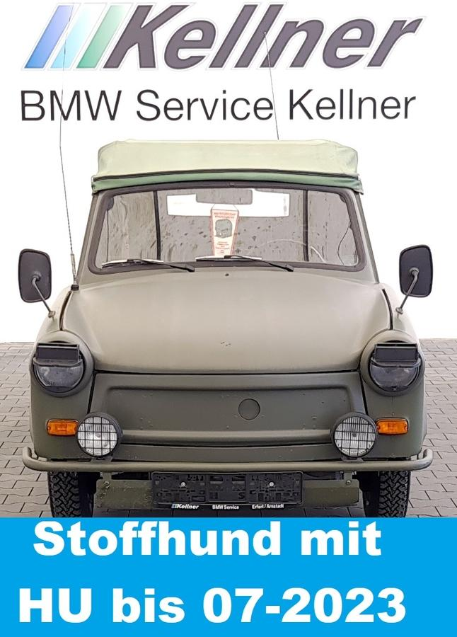 Trabant 601  A Kübel NVA mit NMA , Reifen und HU neu !