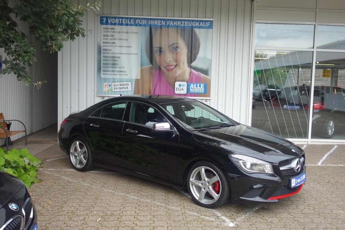Mercedes-Benz CLA 180 URBAN 7G AUT/BI-XENON/NAVI/AKT PTS/LICHT + SICHT