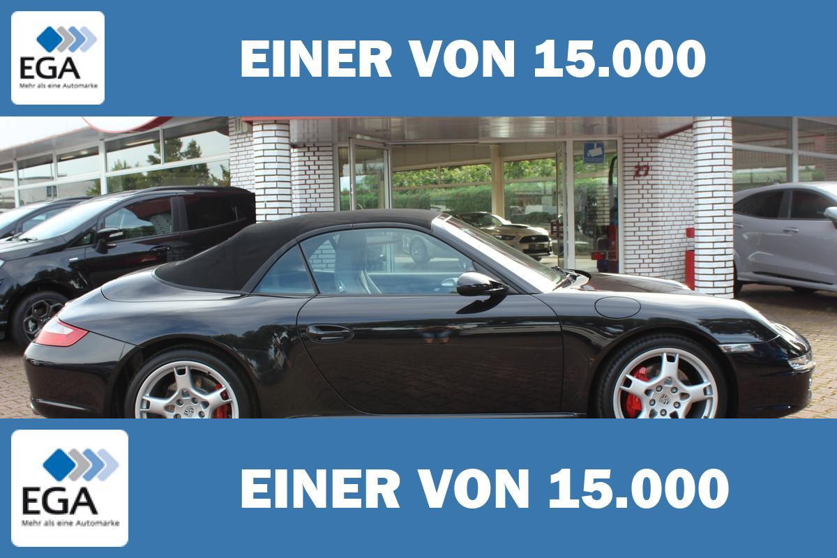 Porsche 911 997 4S Cabrio / Leder + 19 Zoll + Bi-Xenon