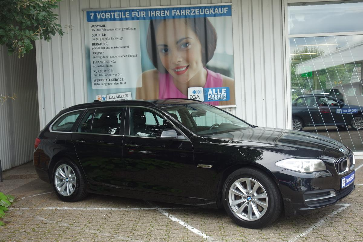 BMW 525d  1H*XENON*HEAD UP*STANDHZG*NAVI*LUFTFED*HIFI*SPURWECHS