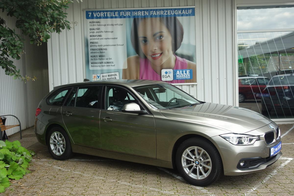 BMW 318I TOUR*ADVANTAGE*LEDER*LED*AHK*PDC v + h*SHZ*TEMPOMAT