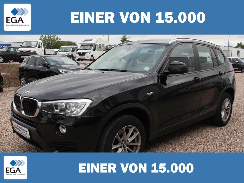 BMW X3*Allrad* Standheizung* Navi* Bi-Xenon* AHZV*