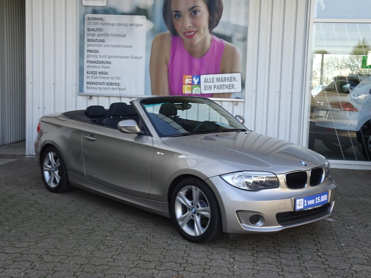 BMW 118i CABRIO KLIMA SITZHEIZUNG 17 ZOLL ALU  2 HAND