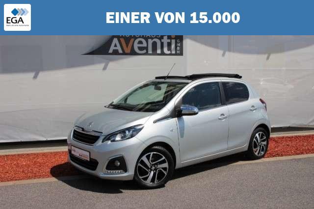 Peugeot 108 1.0 VTi TOP! Allure *SHZ*el. Verdeck*Kamera*