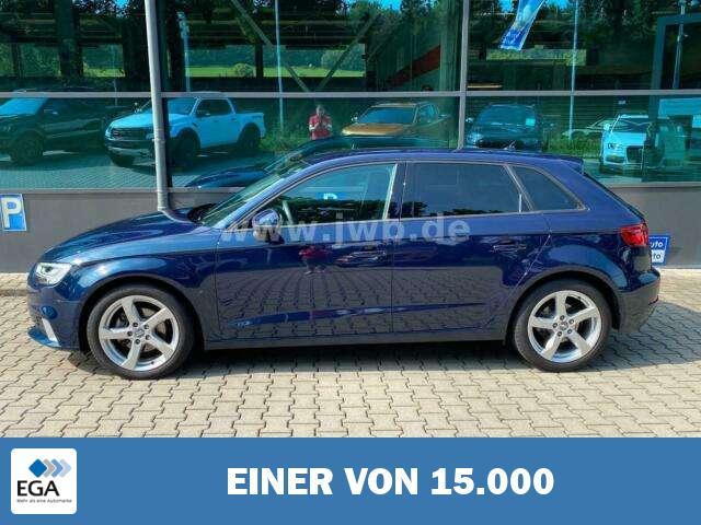 Audi A3 1,5 TFSI Sportback Autom. Np40,LED,AHK,SH