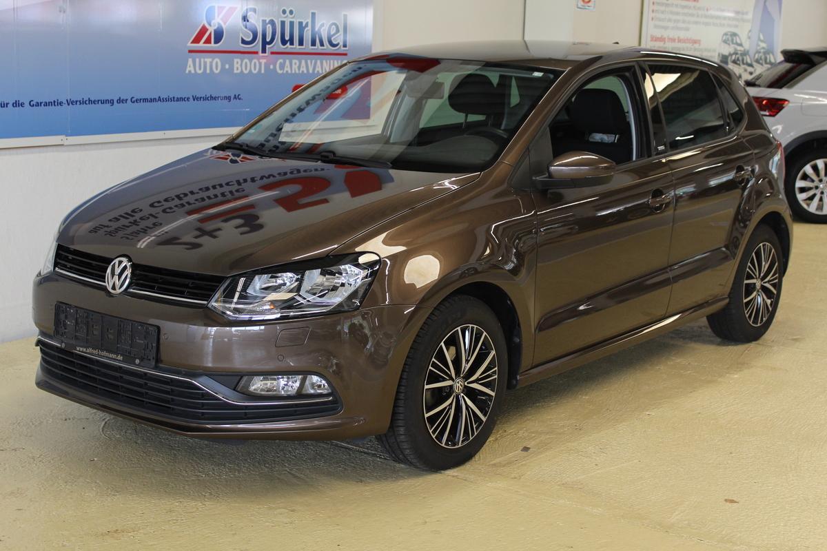 Volkswagen Polo 1,2 TSI BMT,Sondermodell Allstar,Navi,Autom.