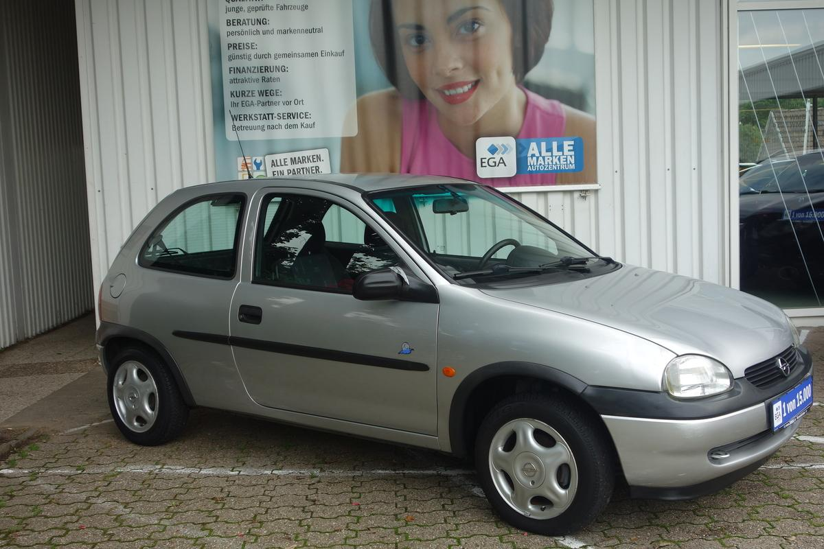 Opel Corsa B 45TKM !!!!! *AUTOMATIK *KLIMAANLAGE*SERVO*SEHR GEPFL