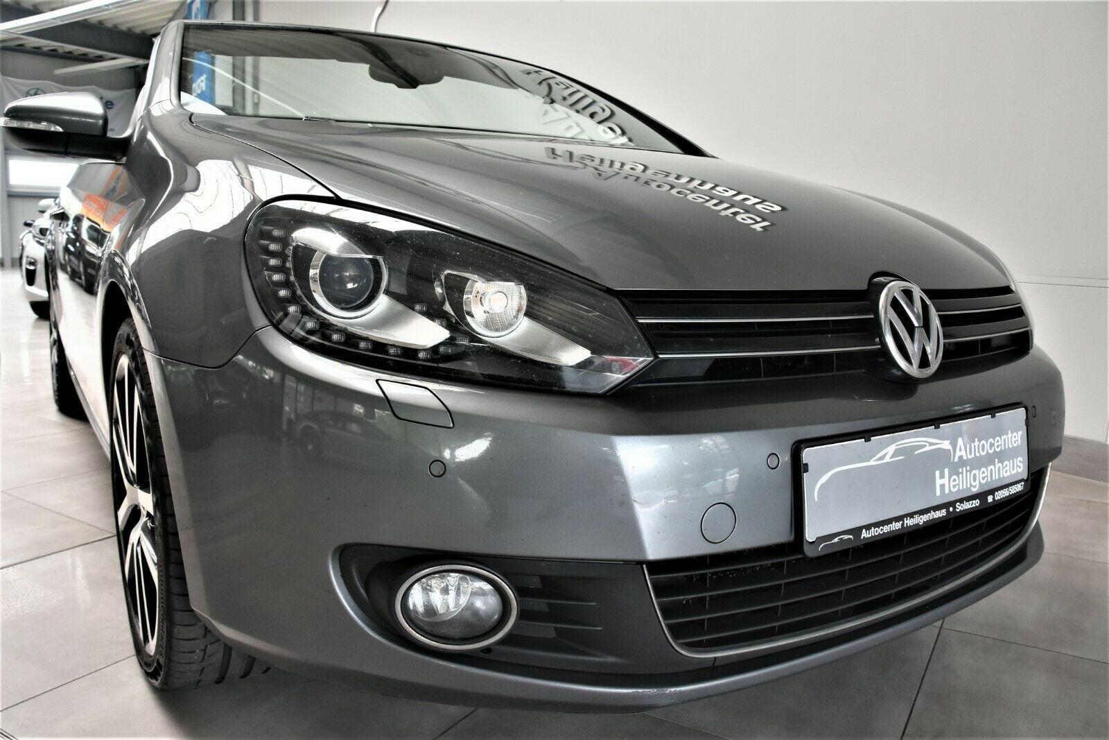 VW Golf VI 1.6 TDI Cabrio Klima Leder Bi-Xenon PDC