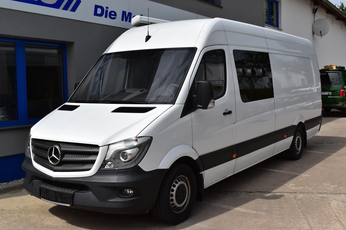 Mercedes-Benz 319 CDI Hoch+Extralang Klima Sthzg BiXenon 4 Sitze