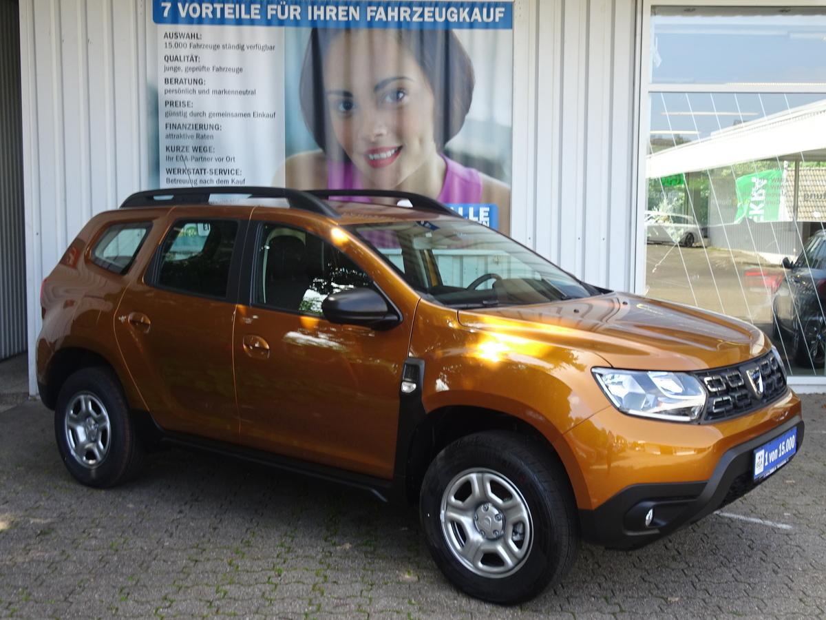 Dacia Duster 1.6 SCe COMFORT AHK KLIMA*BLUETOOTH *MFL*TEMPOMAT